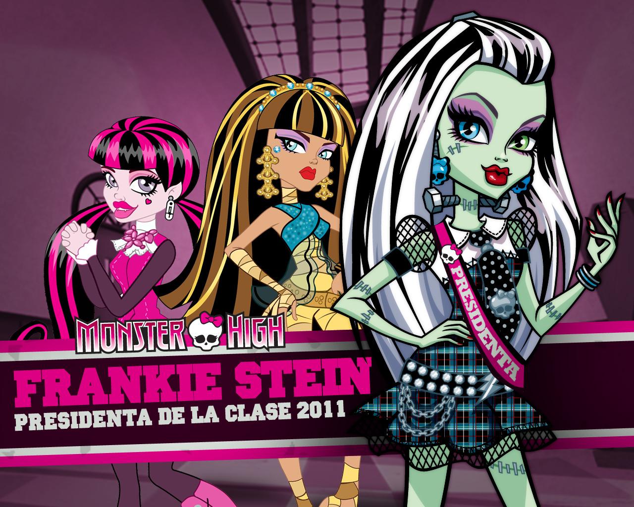 Presidenta De Clases Monster High
