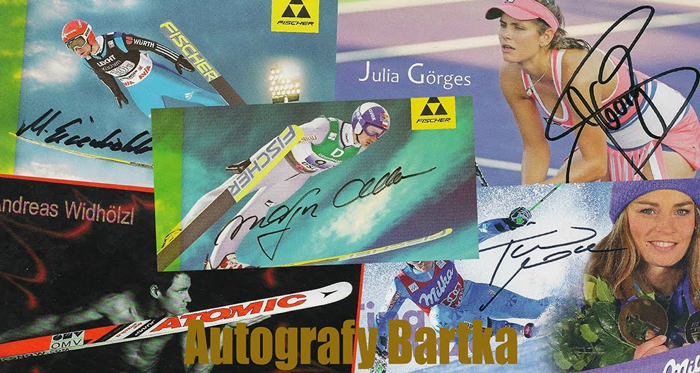 Autografy Bartka