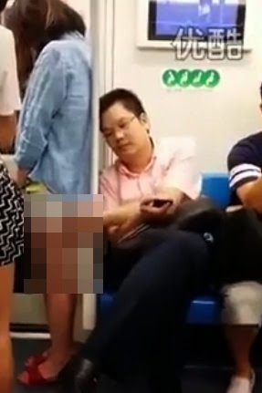 Video Lelaki Miang Buat Muka Seposen Lepas Pegang Punggung Gadis