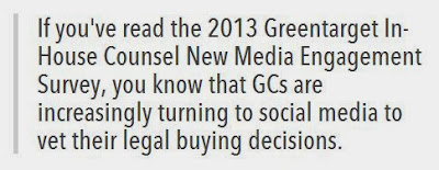 2013 Greentarget Survey of In-House Counsel