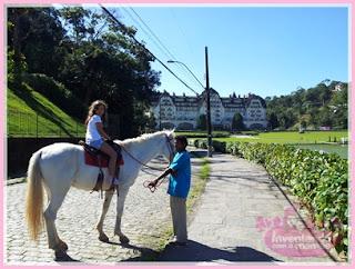 Passeio a cavalo em Petrópois
