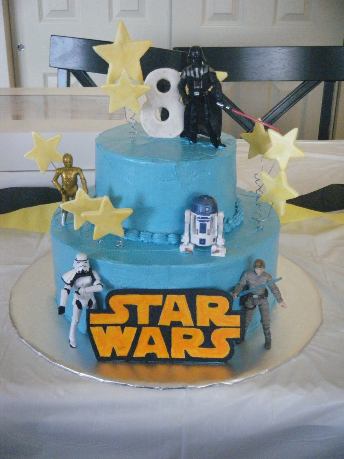 Images Of A Star Wars Cake : Live. Laugh. NERD!: Cakey Wednesday: May the Cake be With ...
