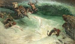 Naiades et Centaures dans les Vagues, Georges Jules Victor Clairin