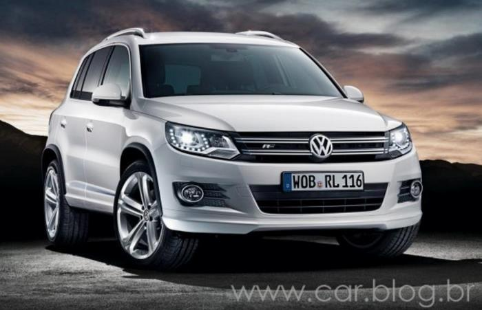 VW Tiguan 2012 - branca