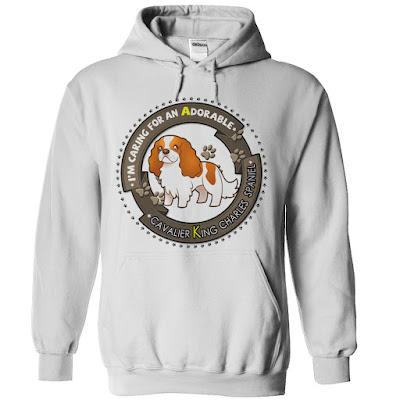 Cavalier king charles spaniel hoodie