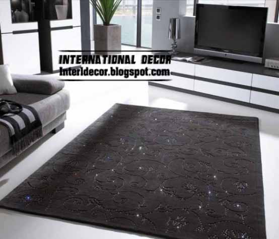 black floors carbets - black carpets 2013 - classic carpets models