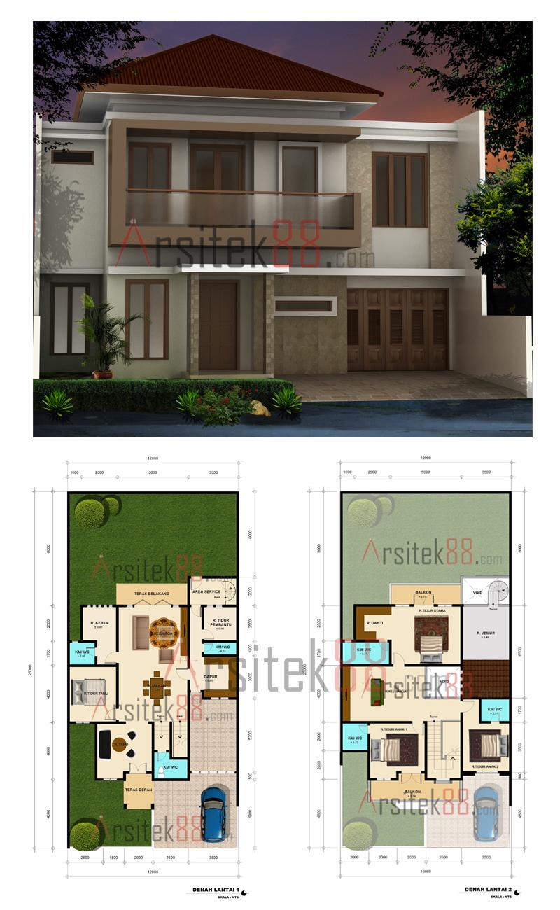 Informasi Desain Rumah Sederhana 10 X 20 Meter Prosforjdacom