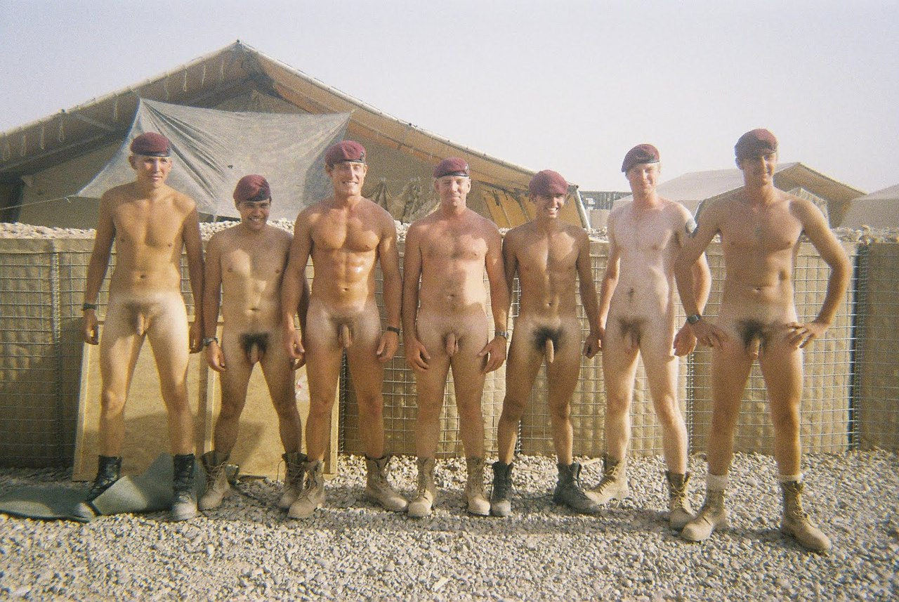 Nude Men In Large Groups