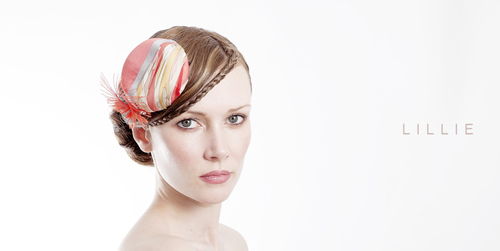 Milliner Katherine Elizabeth's creation at Head to Toe Exhibition, London, Feb'13