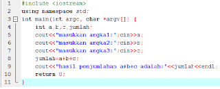 program mencari faktorial menggunakan dev c++