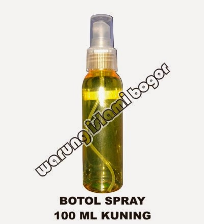 Jual Botol Spray 100ml Warna Kuning