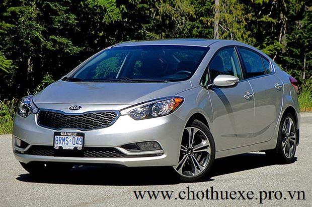 Cho thuê xe 4 chỗ KIA Forte giá rẻ chất lượng