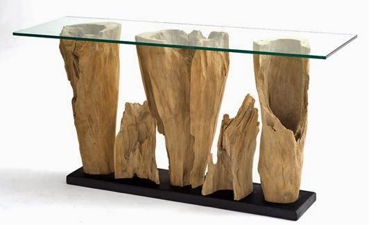 stolik do kawy z pnia