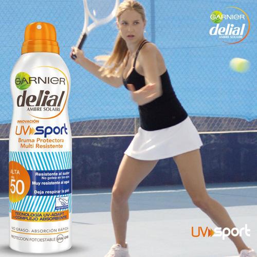 protector solar Garnier Delial UV Sport