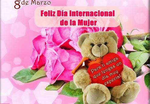 Frases De Feliz Día Internacional De La Mujer Para Ti Amiga Que Tengas Un Día Muy Especial