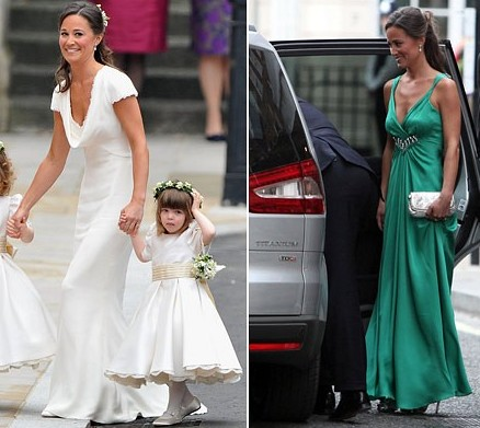 pippa middleton dress. Pippa Middleton never managed