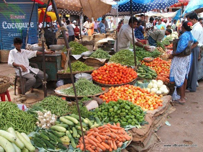 Goa market
