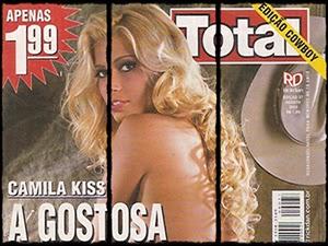 Camila Kiss Nua Na Revista Sexy Total