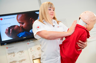 British Red Cross training