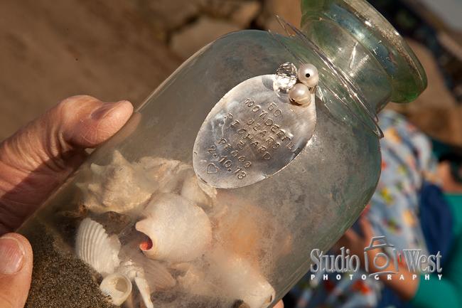 family reunion shell ceremony, Cayucos beach photographer