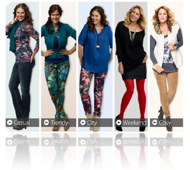 Nieuwe grote maten mode bij MS mode