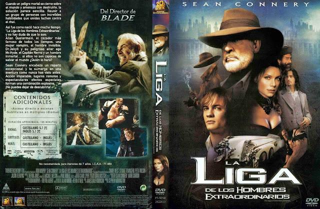 La Liga De Los Hombres Extraordinarios DVD