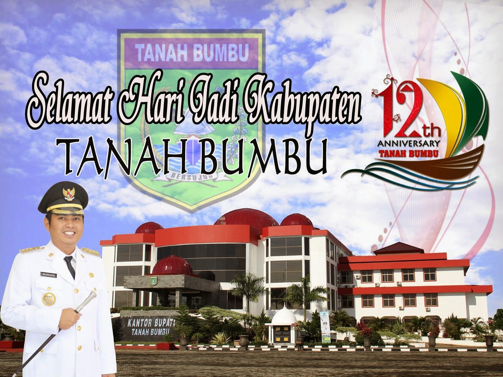 DIRGAHAYU TANAH BUMBU KE 12