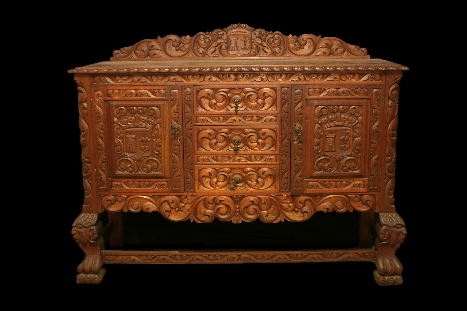 Arte y antiguedades bl muebles dakota - Muebles la colonial ...