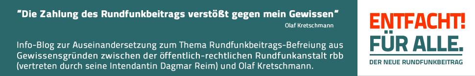 ENTFACHT! FÜR ALLE. DER NEUE RUNDFUNKBEITRAG
