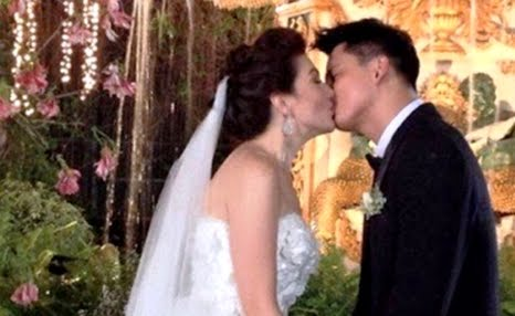 zoren carmina wedding kiss
