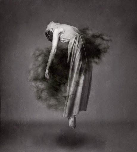 photographie noir et blanc danseuse danse josephine cardin
