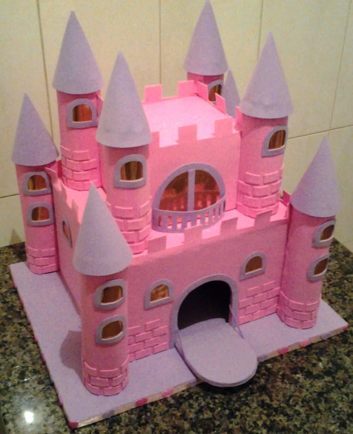 Deise artes castelo das princesas for Mural de isopor e eva