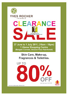 Yves Rocher France Beauty & Fragrance Clearance Sale 2012
