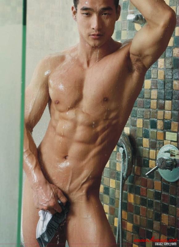 Jesse Models White Panty In Kitchen
