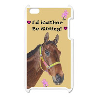 horse crazy ipod cover