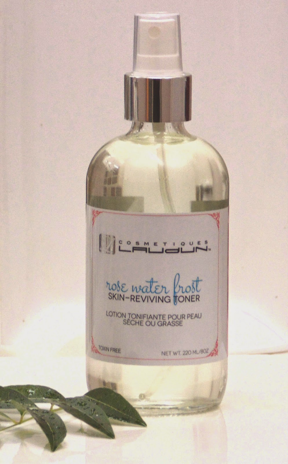 "COSMETIQUES LAUDUN TM ""Rose Water Frost,"" Rejuvenating Facial Toner"