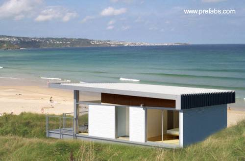 Arquitectura de casas la casa moderna prefabricada - La casa prefabricada ...