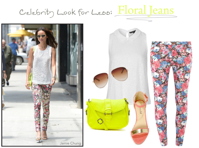 Jamie Chung Floral Pants