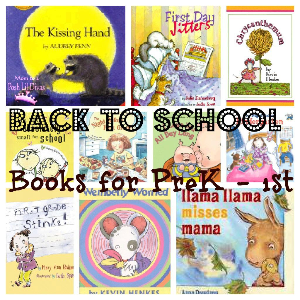 Mom To 2 Posh Lil Divas Favorite Back To School Books For Preschool