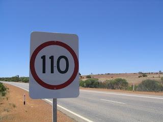 Límite Velocidad 110