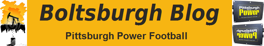 Pittsburgh Power Football - BOLTSBURGH BLOG