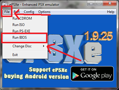 how to delete saved games on epsxe