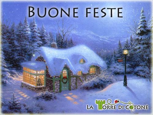 Buone feste e Buon Natale da la Torre di Cotone