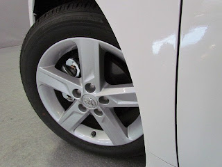 2012 Camry SE Alloy Wheels