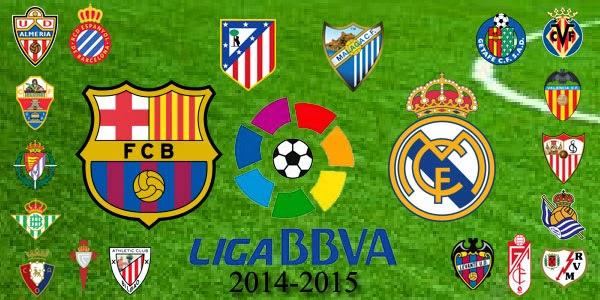 Klasemen dan Hasil Lengkap La Liga Spanyol