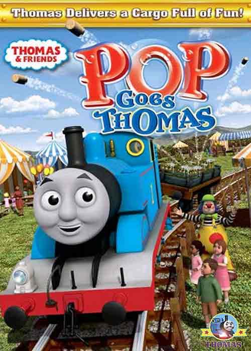 Goes Thomas The Train DVD For Kids Movie Cartoon Animation CGI | Train ...