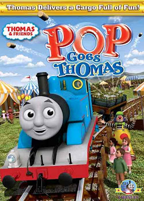 Pop Goes Thomas the Train DVD for Kids Movie Cartoon Animation CGI Sodor outdoor picnic extravaganza