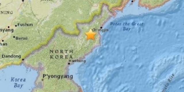 Jepang : Tak Ada Radiasi Setelah Uji Coba Nuklir Korea Utara