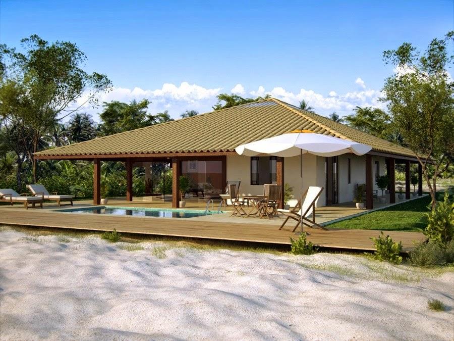 Arquitetando meus sonhos fachadas de casas de campo for Casas modernas 4 aguas