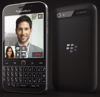 BlackBerry Classic Q20 Smartphone Harga Rp 5 Jutaan